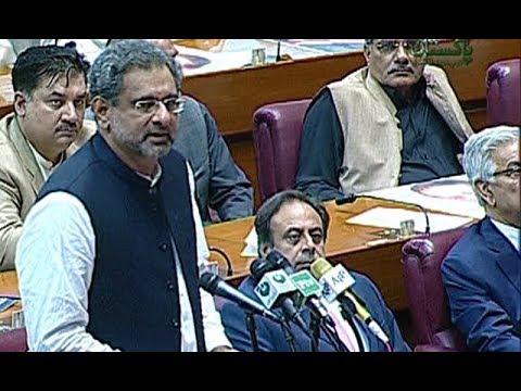 Shahid Khaqan Abbasi elected prime minister of Pakistan