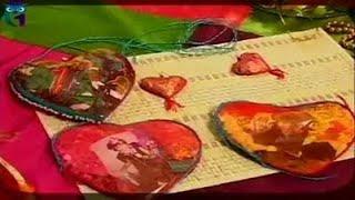 Лоскутное шитье. Шёлковые сердца - украшения для сумок и открыток. Мастер класс. Татьяна Лазарева
