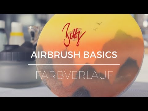 Airbrush Basics - Farbverlauf | Betty´s Sugar Dreams