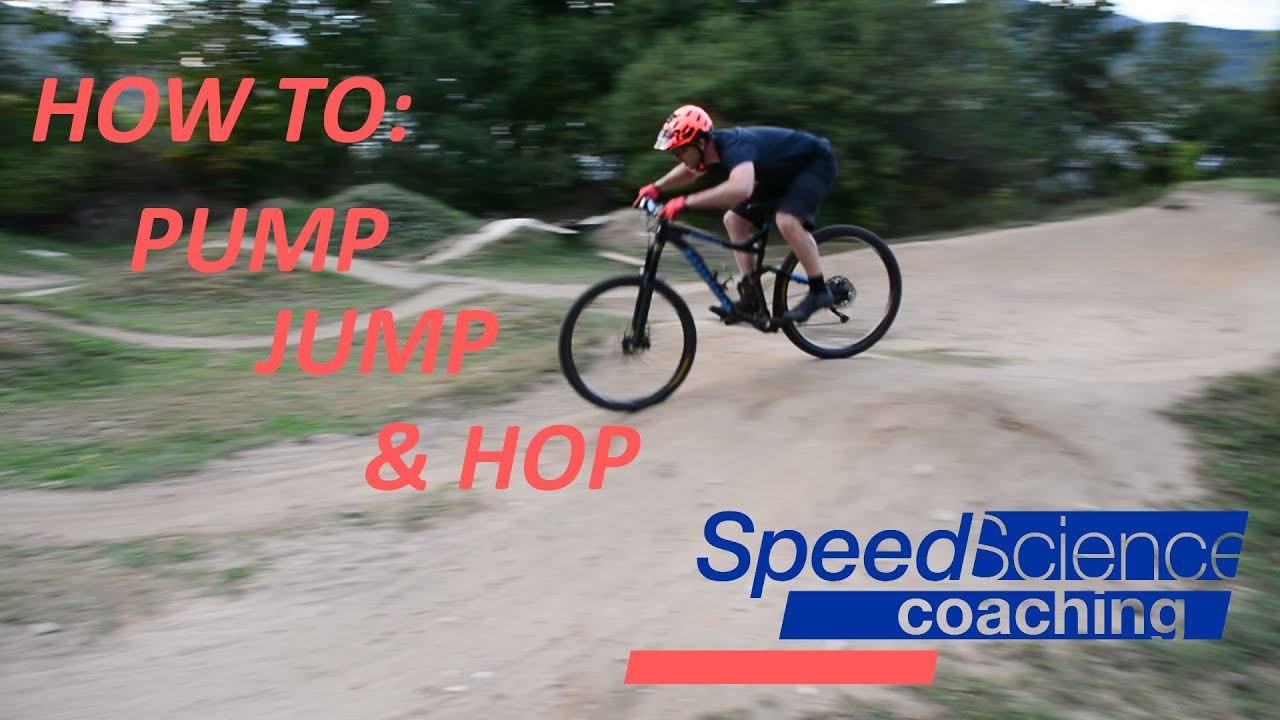 How to Pump, Jump & Hop Your Mountain Bike