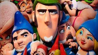 Шерлок Гномс - Русский трейлер 2018 (Gnomeo & Juliet: Sherlock Gnomes)