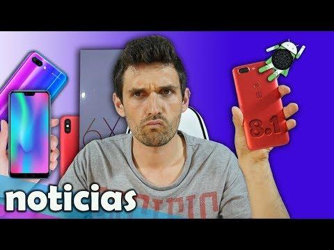 Noticias: Honor 10, Xiaomi Mi A2/Mi 6X/Mi6C, S10 con 3D y OP5T con gestos!