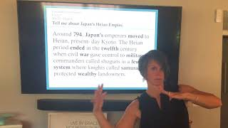 CC1 Wk 10 - History Japan's Heian Period