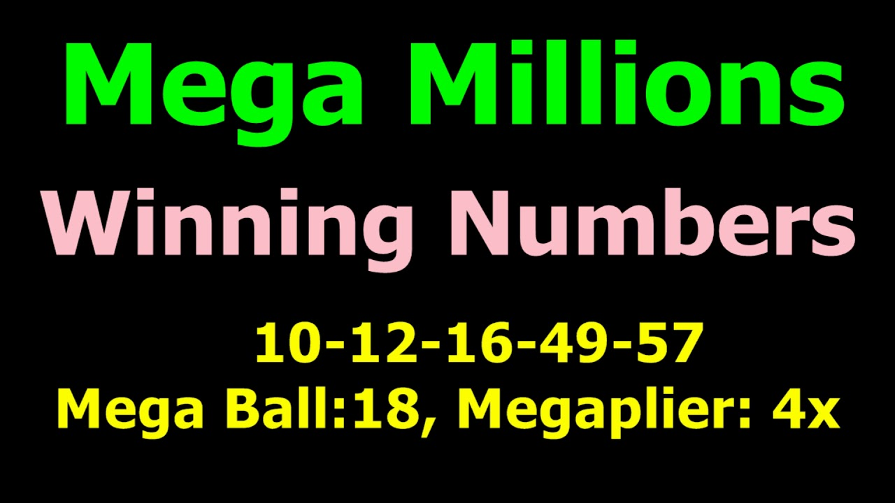 Today Mega millions Winning Numbers 12th March 2019 ...