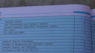 Ignou MCA Masters in computer applications full detail
