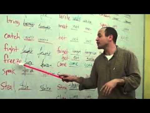 Как надо учить неправильные глаголы англ языка