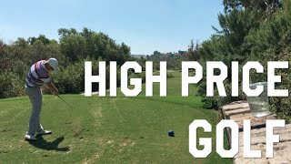 Battling an Expensive Golf Course, Strawberry Farms Vlog, Front Nine