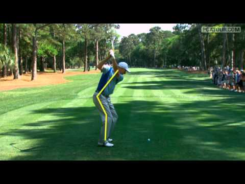 Jim Furyk SwingVision on Sunday at The Heritage - YouTube