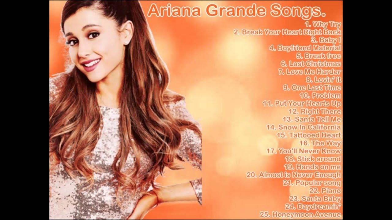 Ariana Grande - Best Songs / Hits 2015 - YouTube