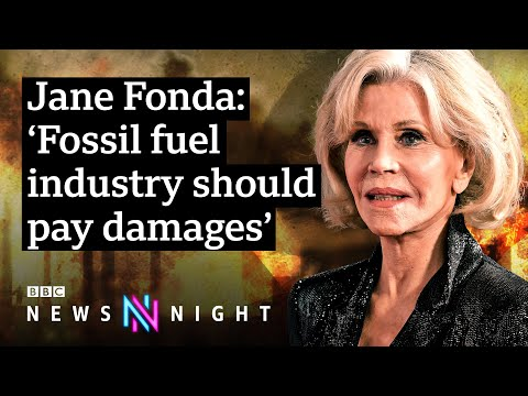 Jane Fonda on her fight against climate change  - BBC Newsnight