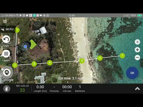 Create Map overlays with Aero Ranger and your DJI Drone