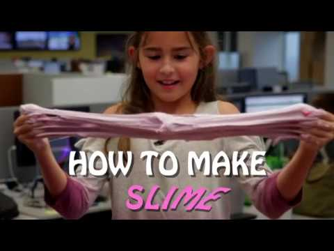 How to make Slime with 4 easy ingredients
