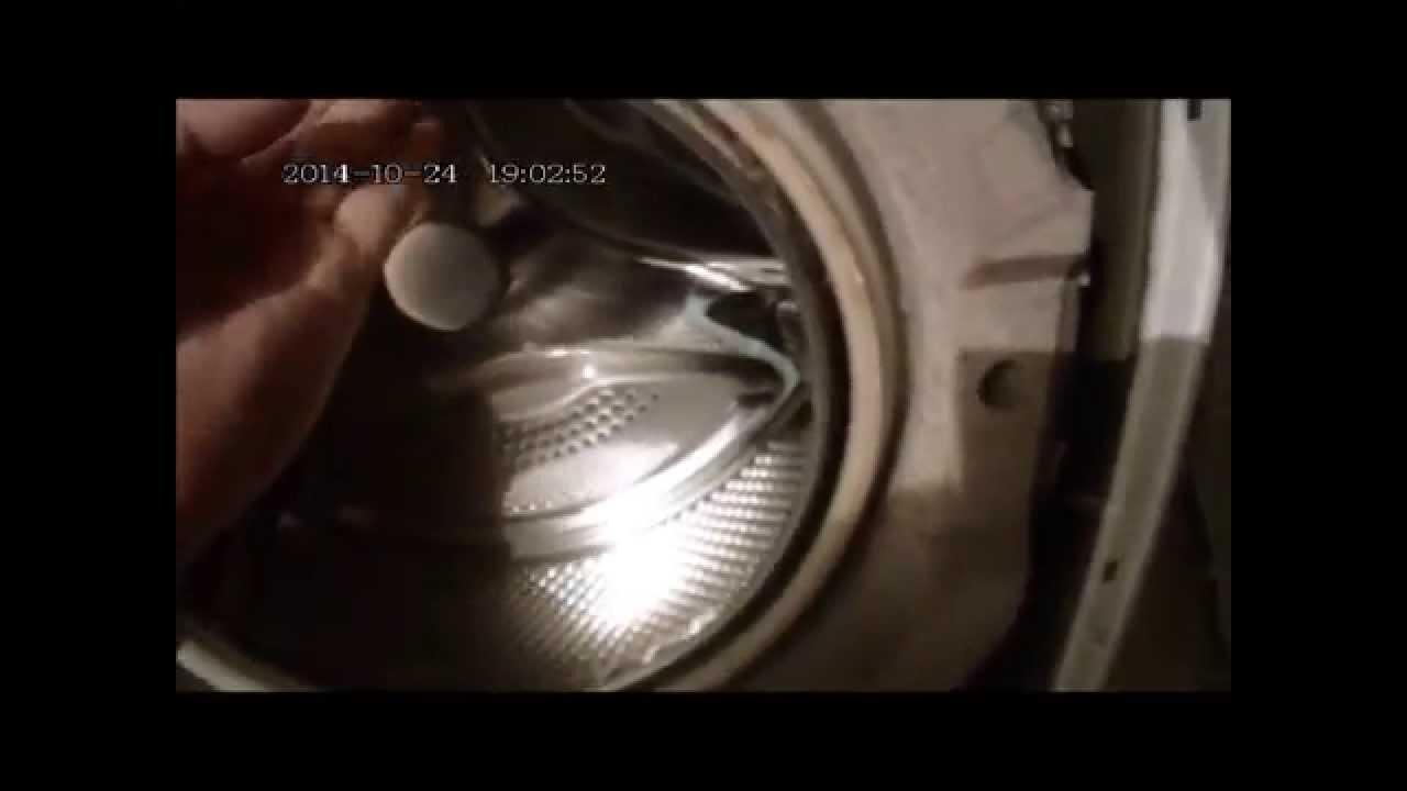 Диагностика подшипников стиральной машины.