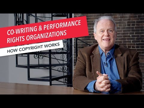 How Copyright Works: Co-Writing & Performance Rights Organizations (PROs) | ASCAP BMI SESAC