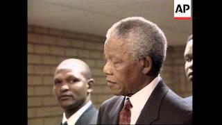 South Africa - Mandela testifies in court