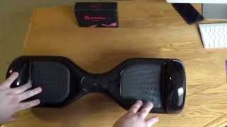 Hoverboard Unboxing & Review! (Two Wheel Balance Scooter) Only Fell Twice!