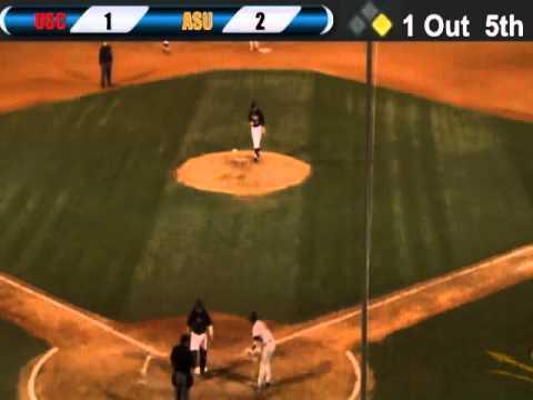 USC @ ASU Baseball 4/13/12