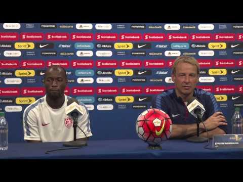 USA - Panama Press Conference