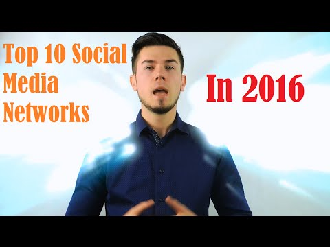 Top 10 Social Media Networking Sites In 2016