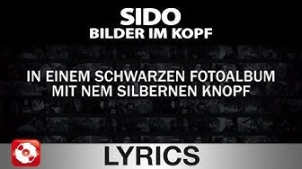 SIDO - BILDER IM KOPF - AGGROTV LYRICS KARAOKE (OFFICIAL VERSION)