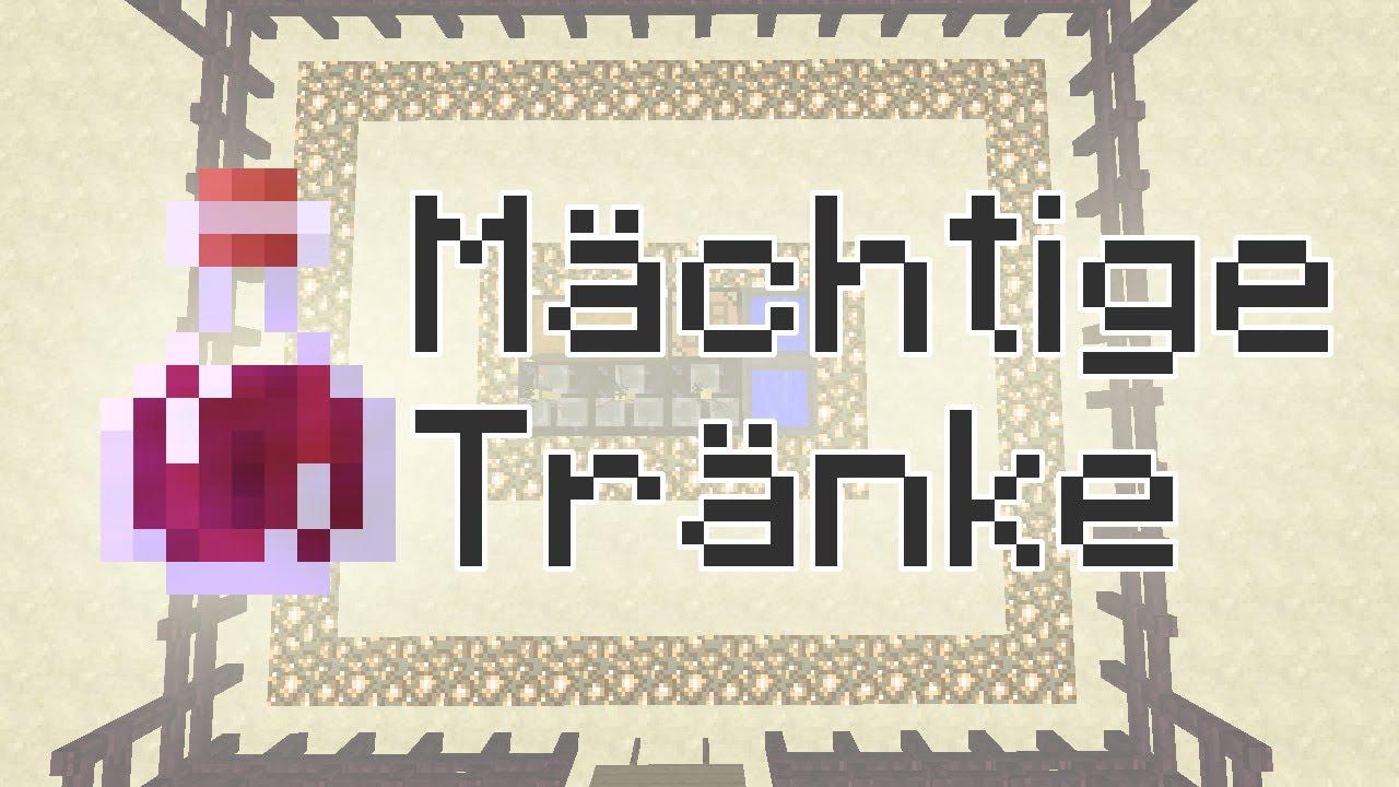 Minecraft-Tutorial: Nachtrag Braustand (Vorstellung mächtige Tränke ...