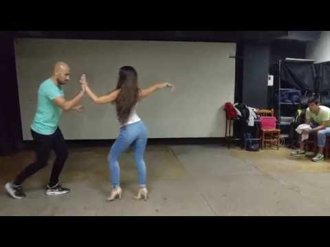 SALSA EN LINEA - Amor de Dios - Sergio y Noelia - Avanzado MAYO/16