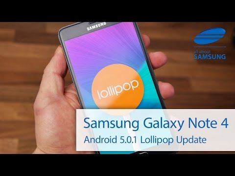 Samsung Galaxy Note 4 Android 5 0 Lollipop Update deutsch HD