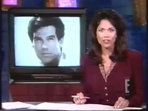 E! Entertainment News - Pierce Brosnan as the new James Bond (June 7th 1994)