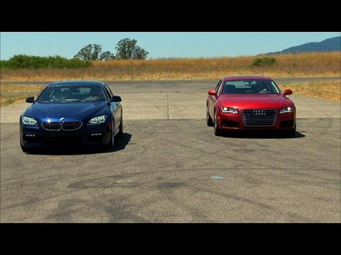 Car Tech - Audi A7 vs. BMW 640i Gran Coupe