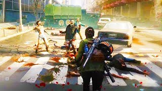 WORLD WAR Z - 17 Minutes of Gameplay So Far (PS4 XBOX ONE PC) World War Z Gameplay Trailers