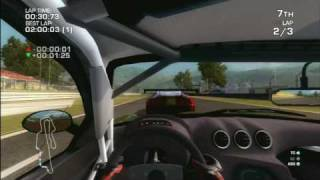 Classic Game Room HD - FERRARI CHALLENGE for PS3 review pt1