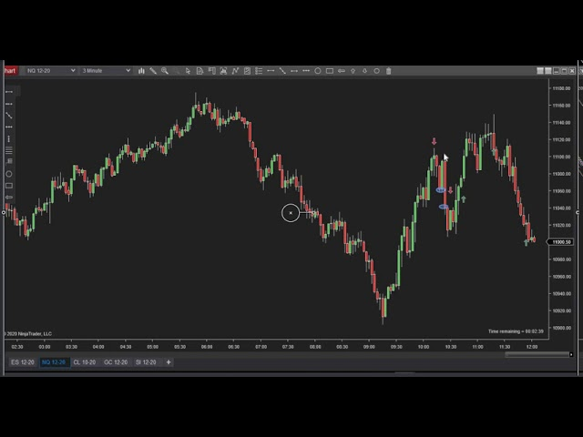 091720 -- Daily Market Review ES CL NQ - Live Futures Trading Call Room