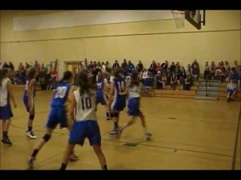 Mt Ararat Middle School Girls Basketball vs Oak hill