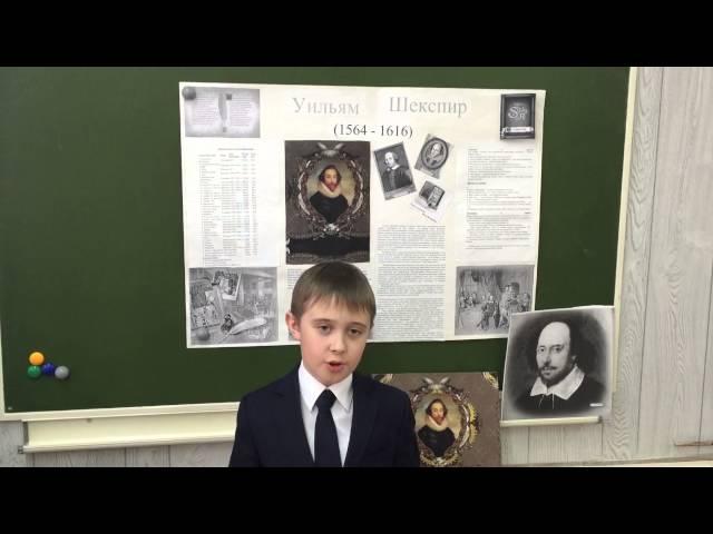 Изображение предпросмотра прочтения – ВладМилютин читает произведение «Сонет № 91. Кто хвалится родством своим со знатью…» У.Шекспира