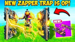 NEW ZAPPER TRAP IS SUPER OP Fortnite Funny Fails And WTF Moments 669