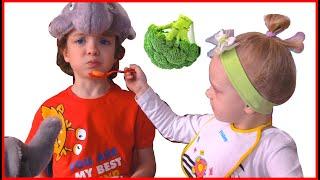 Yes Yes Vegetables Song | Makar Nursery Rhymes & Kids Songs