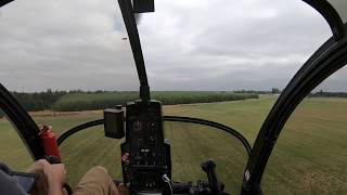 Helicopter Freestyle, Schweizer 300C Display Authority Practice. Part 1 of 2.