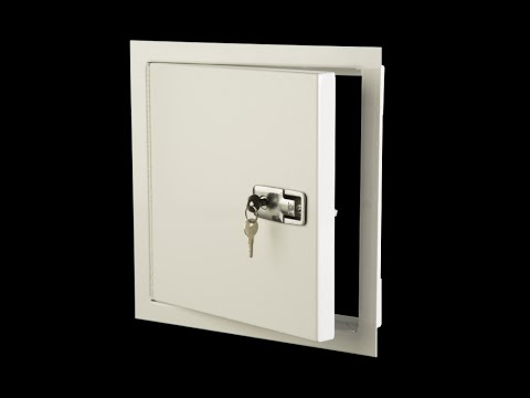 Buy Karp model MX exterior access door - YouTube