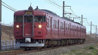 【4K】JR七尾線 普通列車415系電車 サワC06編成