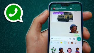 Criar figurinhas no Whatsapp ficou mais fácil! (Novo App!)