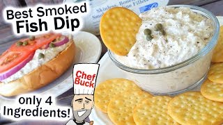 Best Smoked Fish Dip Recipe only 4 ingredients!