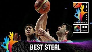 USA v Serbia - Best Steal - 2014 FIBA Basketball World Cup