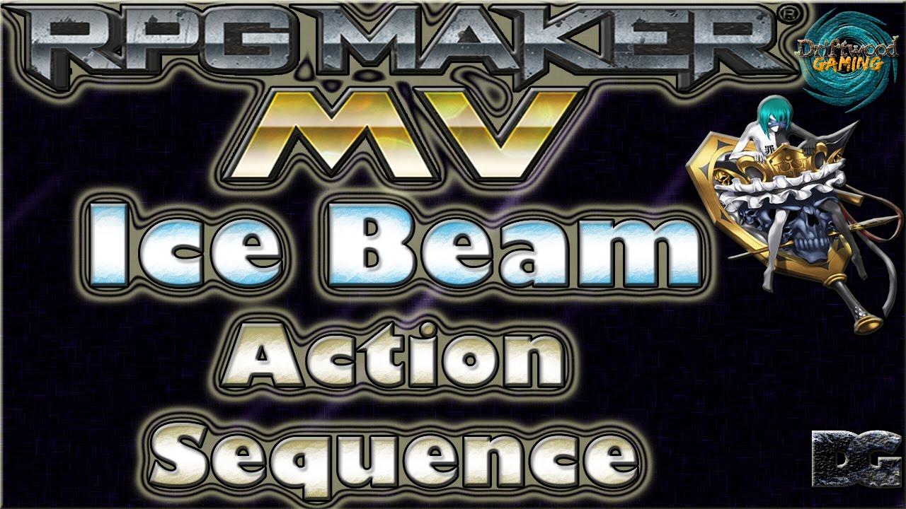 DoD - Ice Beam - Action Sequence - RPG Maker MV