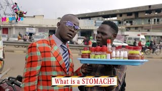 What is a stomach? Teacher Mpamire on the street | Latest African Comedy 2019