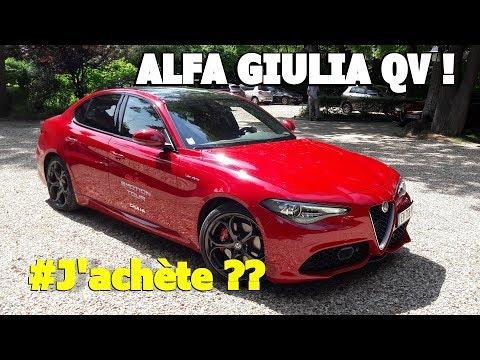 ALFA ROMEO GIULIA QV 510CH J'ACHETE OU PAS ??