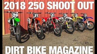 2018 250 Shootout - Dirt Bike Magazine