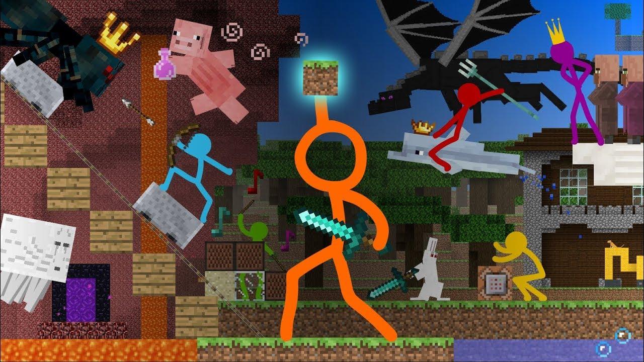 Animation vs Minecraft Shorts Season 1  All Episodes 114