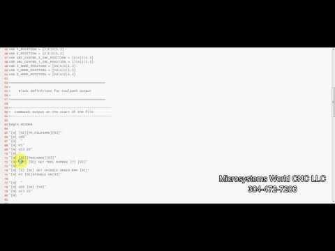 Edit Vectric Post Processor
