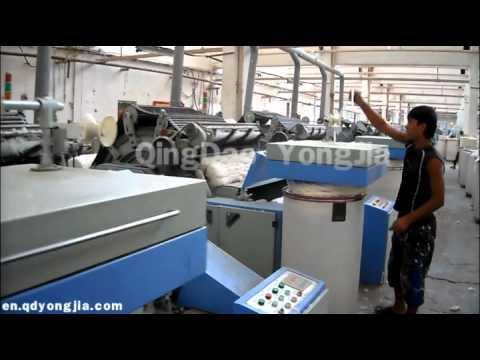 Qingdao Yongjia Textile Cotton spinning carding machine