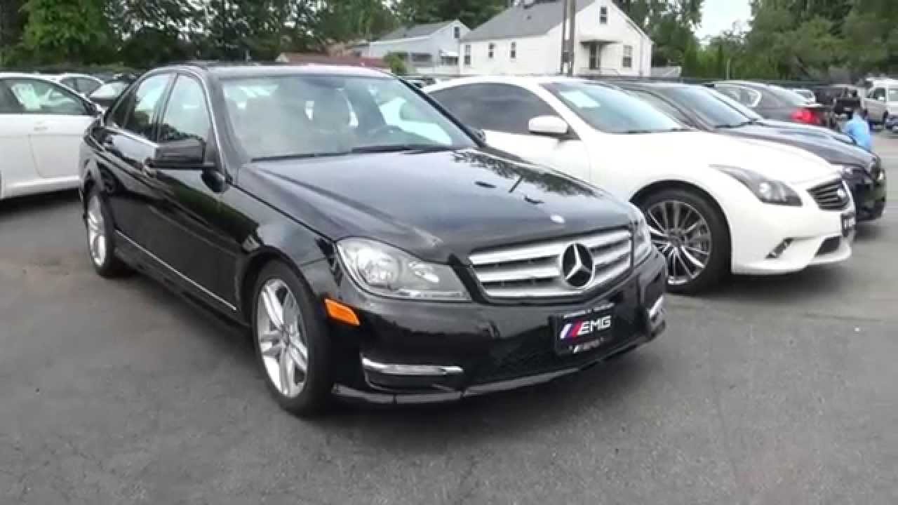 2012 mercedes benz c300 sport sedan for sale in new jersey